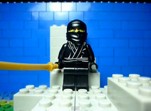 Ninja in LEGO Ninja Chase