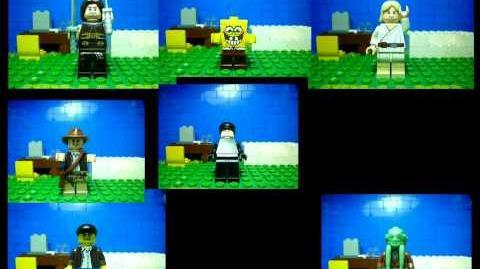 Attack of the Clones LEGO version. MysteryGuitarMan