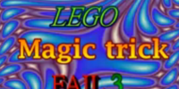 LEGO Magic trick FAIL 3