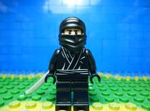Ninja in LEGO Ninja