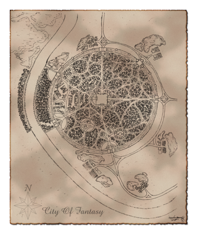 File:City of fantasy map by TheGecko.png