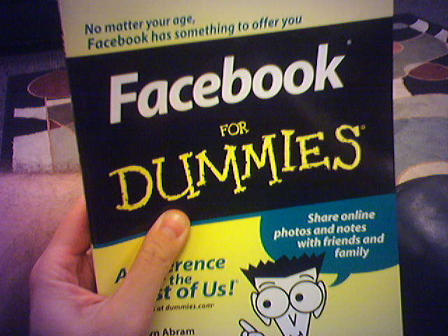 Datei:Facebook for Dummies, anyone?.jpg
