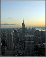 New York from the Top of the Rock