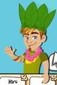 Ollie leaf hat