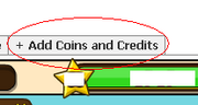 Meteor Credits tab