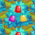 Gumdrop bushes 70