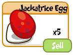 Jackatrice Egg