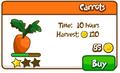 Carrots shop