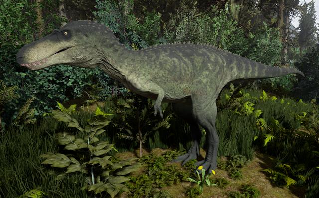 File:Green Tyrannosaurus Rex Juvenile The Isle.png