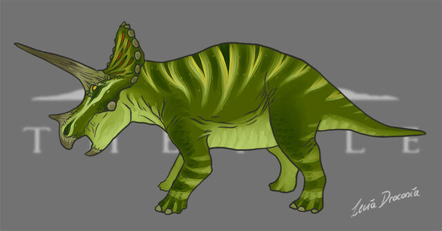 File:Triceratops Green Skin Concept The Isle.jpg