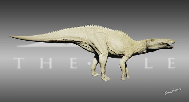 File:Shantungosaurus Albino Skin The Isle.jpg