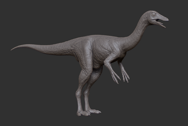 File:Juvenile Gallimimus 3D Model The Isle.png