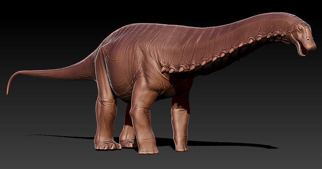 File:Brontosaurus Model The Isle.jpg