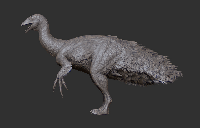 File:Juvenile Therizinosaurus 3D Model The Isle.png