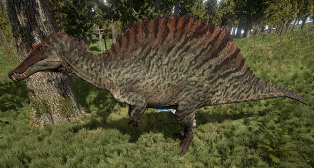 File:Green Spinosaurus The Isle.png