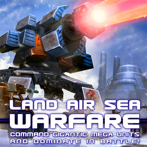 Land Air Sea Warfare logo