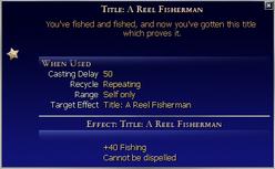 Title A Reel Fisherman