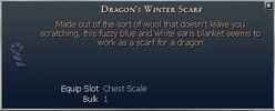 Dragon's Winter Scarf