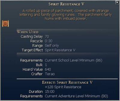 Spirit Resistance V