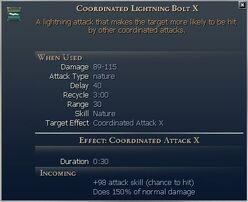 Coordinated Lightning Bolt