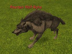 Mountain Wolf Alpha