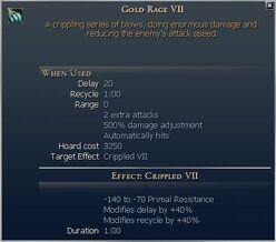 Gold Rage