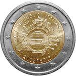 2 euro commemorativo 2012