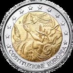 2 € commemorativo Italia 2005