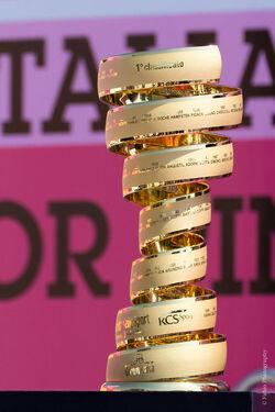 2012 Giro d'Italia Trofeo senza fine