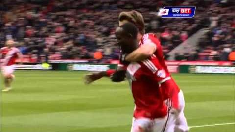 Middlesbrough 4-1 Ipswich (2014-15 season)