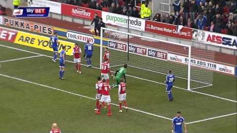 Rotherham 2-0 Ipswich (2014-15 season)