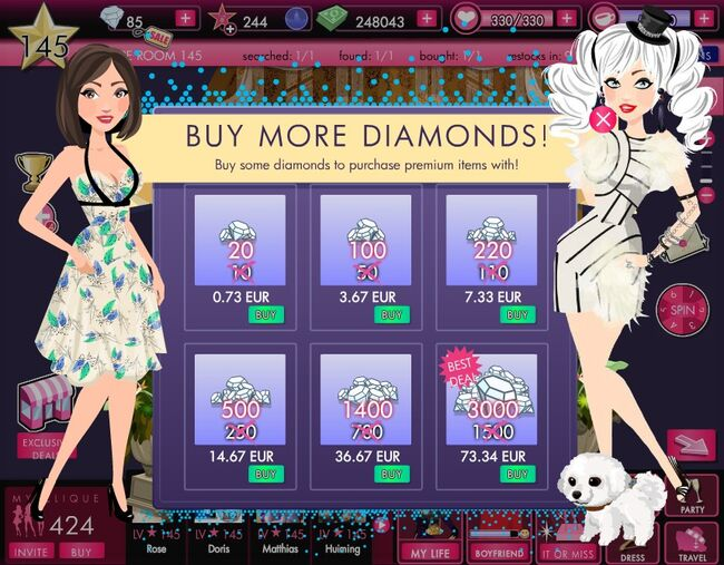 ItGirl Game Item of Interest No 000000101