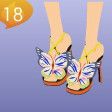 Butterfly Whimiscal Butterfly Heels