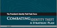Combating Identity Theft: A Strategic Plan