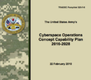 Cyberspace Operations Concept Capability Plan 2016-2028