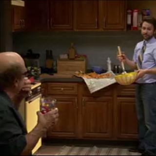 Mac and Dennis's kitchen