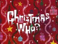 Christmas Who titlecard