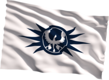 Republic flag wind
