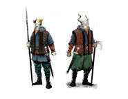 Tw3 skellige soldiers concept art