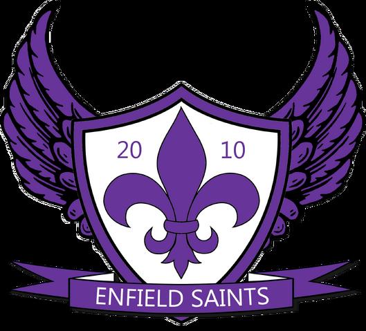 File:Enfield Saints FC crest 2013–2016.png