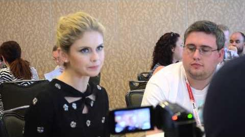 2015 Comic-Con Roundtable Interview Rose McIver (iZombie)