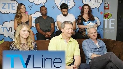 IZombie Interview TVLine Studio Presented by ZTE Comic-Con 2016