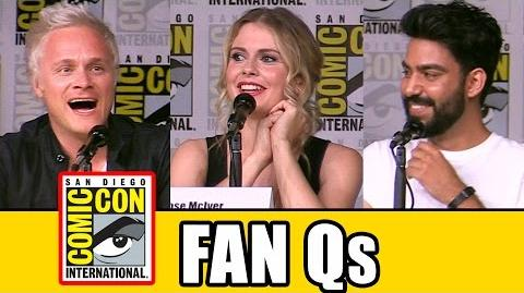 IZOMBIE Comic Con 2016 Panel Fan Questions (Pt2) - Rose McIver, David Anders, Rahul Kohli