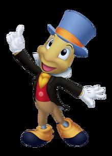 Jiminy Cricket in Kingdom Hearts