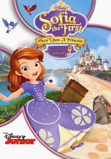 Sofia the First Once Upon A Princess DVD