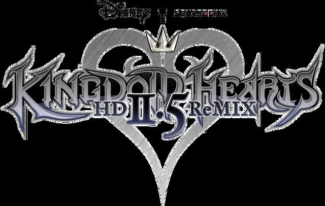 File:Kingdom Hearts HD 2.5 ReMIX logo.png