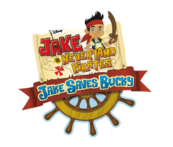File:Jake and the Never Land Pirates Jake Saves Bucky logo.png