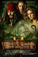 Pirates of the Caribbean Dead Man's Chest poster