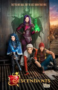 Descendants 2015 poster