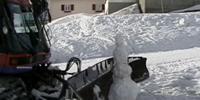 Snowcat VS. Snowman